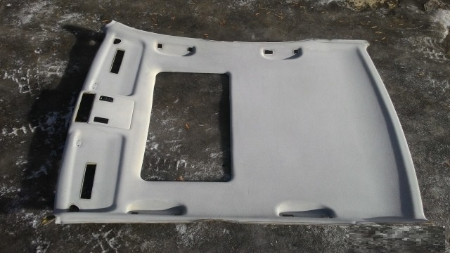 Серый потолок седан под люк бмв е39